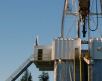 CRG Boiler Systems designs steel windwalls for drilling rigs.