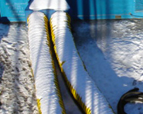 CRG designs & builds complete hose transitions and hose packages for any heat distribution need.