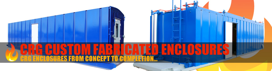 CRG Boiler Systems designs & fabricates enclosure products.