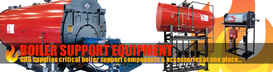 CRG Boiler Systems offers boiler support equipment.