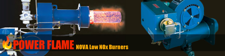 CRG Boiler Systems a distributor of Power Flame Nova Low N0x Burners.