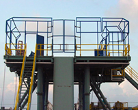 CRG Boiler Systems designs & fabricates canvas framework structures.