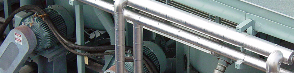 CRG Boiler Systems fabricates steam piping products.